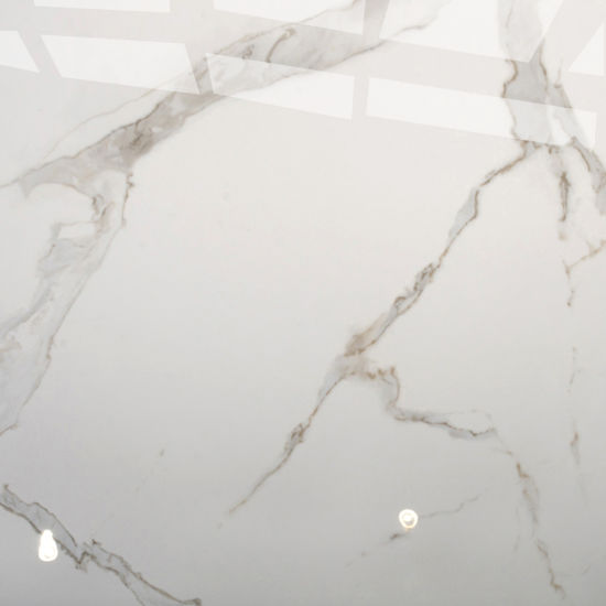 Snow White Marble Floor Tile