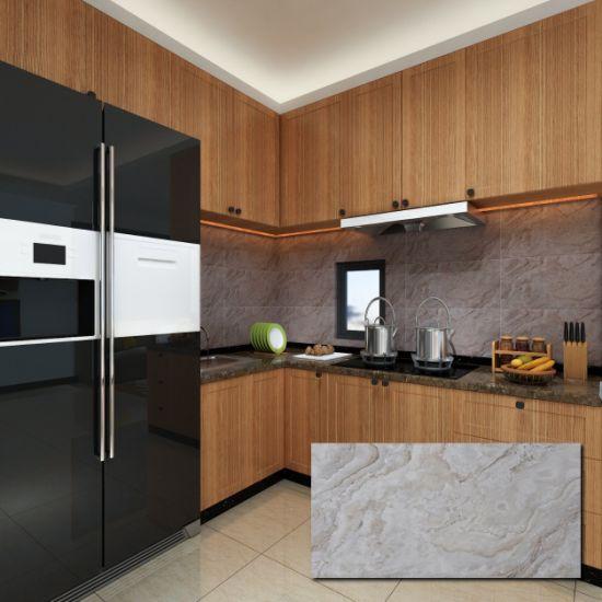 30x60cm Marble Texture Modern Kitchen Wall Tile Backsplash Designs