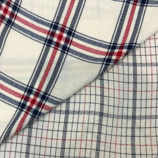 100% Rayon Yarn Dyed Fabric for Women's Wear 40s*40s Textile Fabric