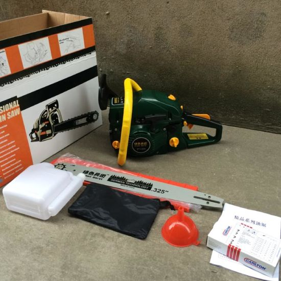 Gasoline Chain Saw (SY-L520) Gasoline Chainsaw Green Beret pictures & photos