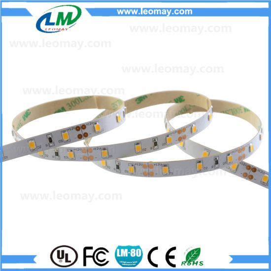 Waterproof DC12V SMD2835 Flexible Strips LED with UL CE RoHS pictures & photos