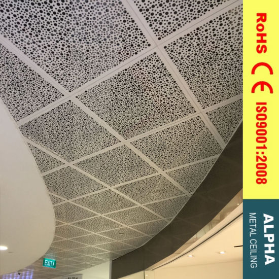 Metal Ceiling Aluminum Suspended Preforated Clip in Ceiling pictures & photos