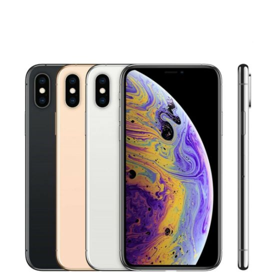 Original Mobile Phone for iPhone Xs 64GB 256GB 512 GB GSM Unlocked 4G Lte Smartphone
