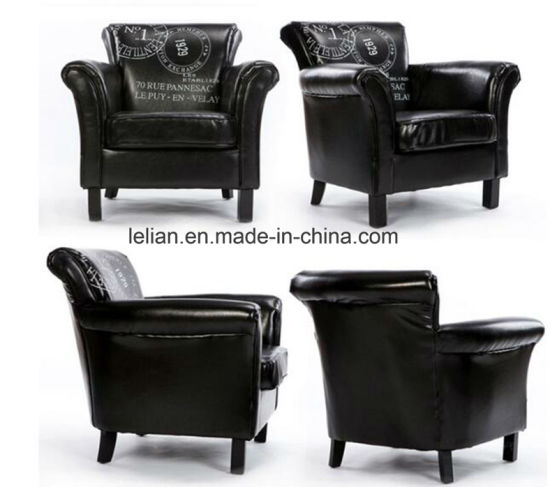 china modern design sofa furniture leather single sofa chair ll
