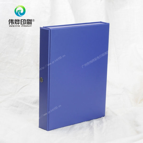 Plastic / PP / PVC Printing Packaging Gift Box / Folder / Stationery pictures & photos