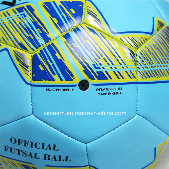 Slippery Machine-Sewn Soft TPU Material Football pictures & photos
