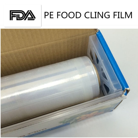 China Food Grade Nontoxic Fresh Cling Wrap for Wet and