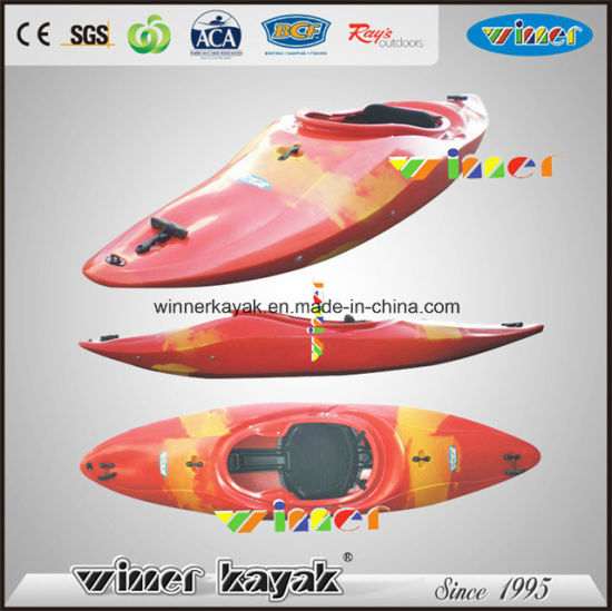 Fast Kayak Single Sit in White Water Mini Speed Boat pictures & photos