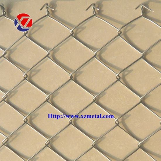 60mm*60mm Mesh electric Galvanized Chain Link Fence