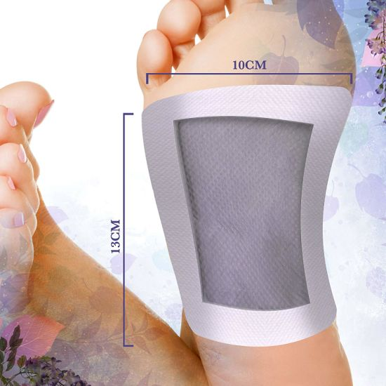 Hot Selling Relax Detox Foot Patch Wholesale Real Natural Herbal
