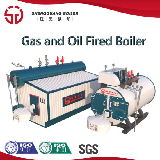 Brand New Industrial LNG LPG Oil Gas Fired Low Nox Steam Boiler Hot Water Boiler