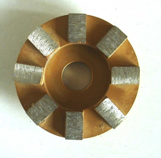 180mm Segmented Diamond Cup Grinders pictures & photos