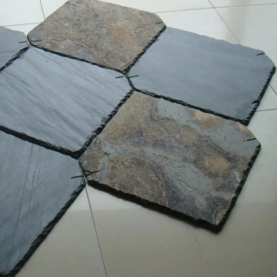 China Natural Stone Rusty Roofing Slate Tiles With Holes China Roofing Slate Tile Tile Roof