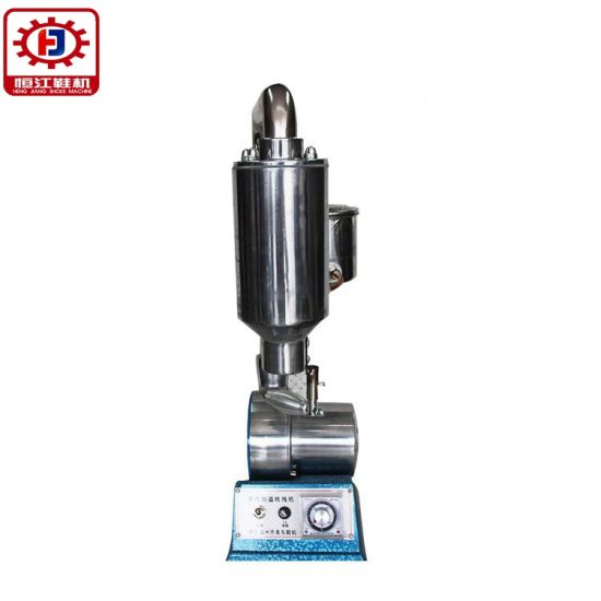 Industrial Single Ended Wheel Type Shoe Polishing Machine Sanding Machine and Clean Shoes (229)