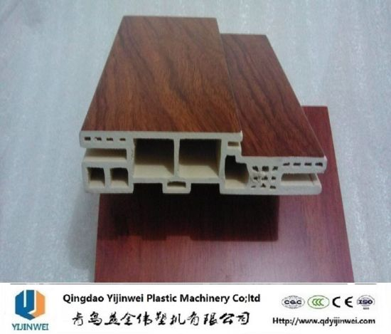 PVC WPC Door Frame Extrusion Making Machine