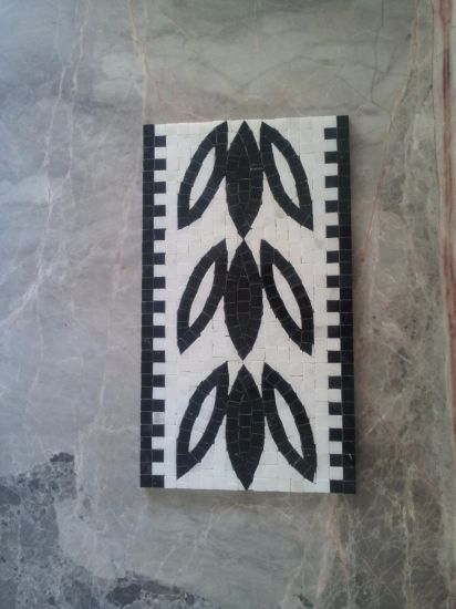 White Marble Pattern Mosaic Tile, Marble Pattern, Waterjet Marble pictures & photos