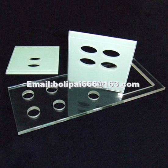 Electrical Appliacne Glass Panels with Holes in It