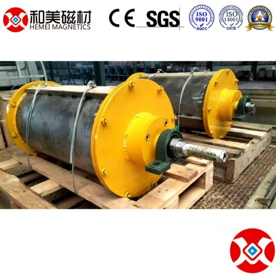 Gaogong Group Permanent Magnetic Separator Pulley / Drum for Mining Machine pictures & photos