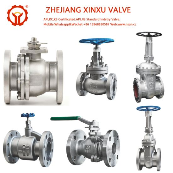API ANSI JIS 10K 20K CF8 CF8m Carbon Steel Wcb Stainless Steel 2PC Teflon PTFE Seat Flange Ball Gate Globe Check Valve Manufacturer pictures & photos