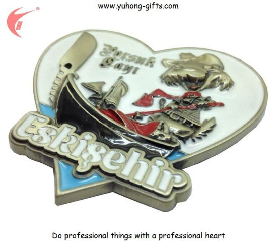 Hot Sale Refrigerator Magnet for Promotion Gifts (YH-FM100) pictures & photos