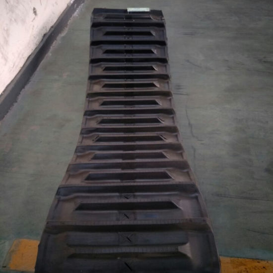 Harvester Rubber Track D500*90*56 Sales in Philippines pictures & photos