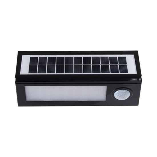 LED Waterproof Sensor Wall Lamp Outdoor Garden Street Solar Light