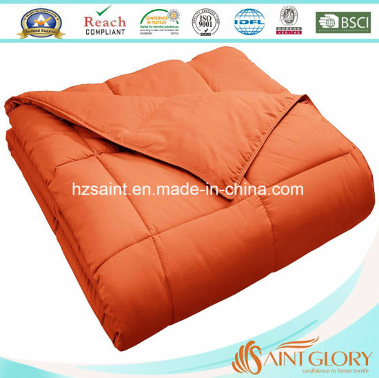 Factory Wholesale Microfiber Quilt Polyester Duvet pictures & photos