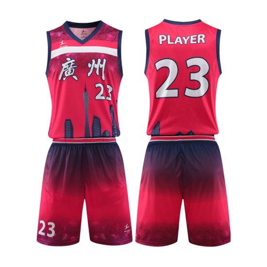 Custom Latest Sports Wear Best Sublimated Basketball Jersey Uniform Design