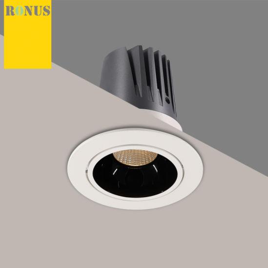 LED COB Spotlight Beam Angle 10/20/30/40W Downlight Lamp Ceiling Indoor Lighting Spot Light