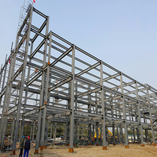 Fast Erection Peb Steel Building Warehouse Construction Materials