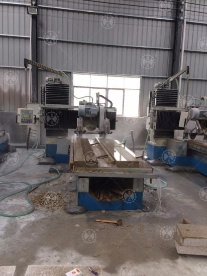Automatic Multi-Function Stone Profiling Linear Machine pictures & photos
