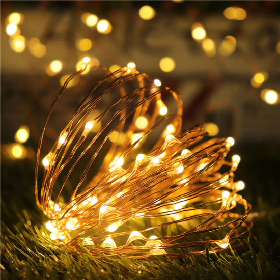 Fairy String Lights 30 Mini Lights Battery Operated on 9.8 Feet Long Starry Firefly Lights
