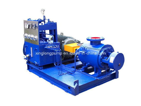 Xinglong Two Spindles Rotary Positive Displacement Pump for Oil Production and Other Viscous Liquids