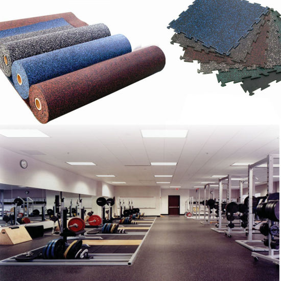 Rubber Mat for Gym Room