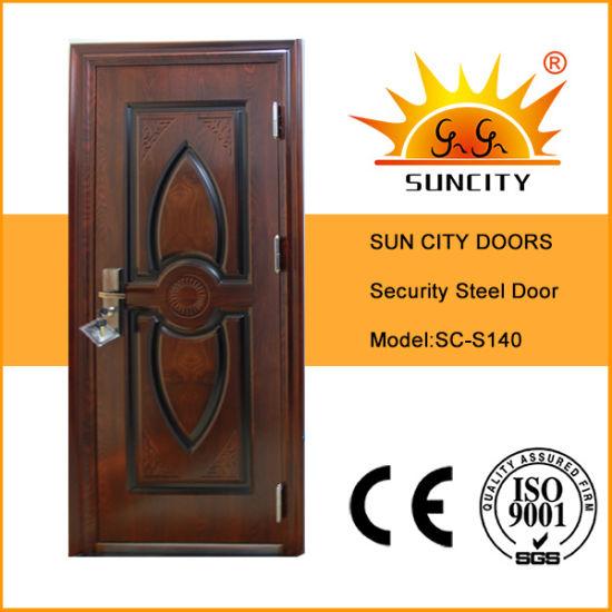 Single Beautiful Steel Exterior Door