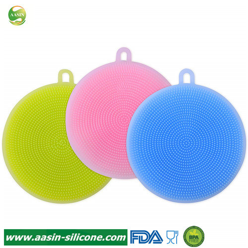 Silicone Cleaning Sponge Silicone Scrubber Silicone Sponges