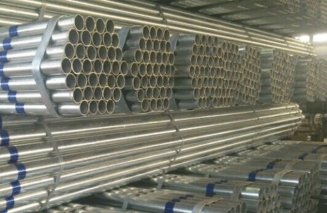 Pre-Galvanized Steel Pipe / Threaded Conduit Gi Pipe 1 1/4 Inch pictures & photos