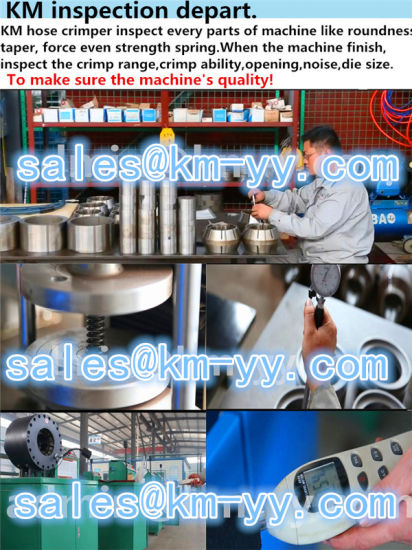Manual Type Hydraulic Hose Cutting Machine Price pictures & photos