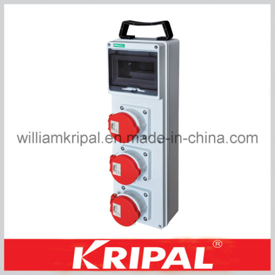 China Plastic Ip44 Industrial Outlet Box