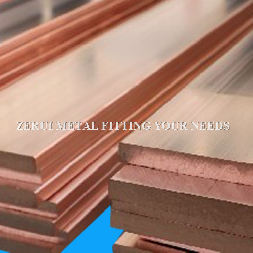 Rectangular Solid Copper Rod for Transformer Connectors