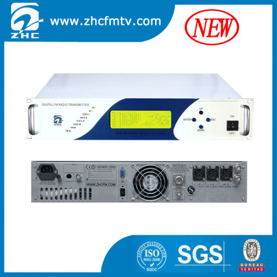China New High Reliability 100W FM Broadcast Transmitter for