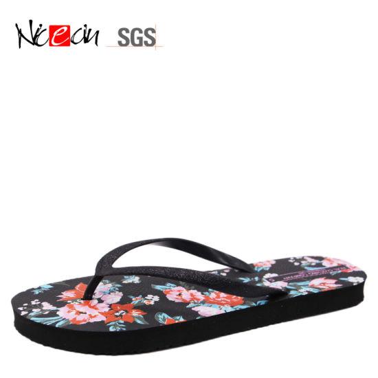 8ff9d7bec China Hot Manufacture Blank White Flip Flop Cheap Woman Slipper ...
