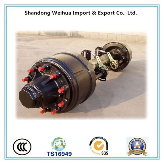 American Type Inboard Drum Trailer Axle From China pictures & photos