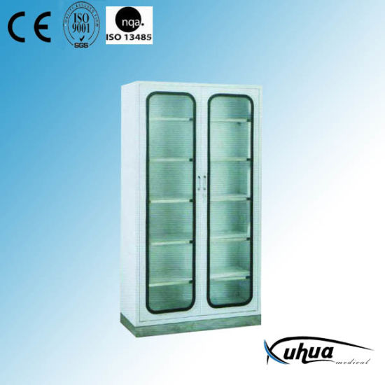 2 Doors Hospital Medical Instrument Cabinet (U-1)