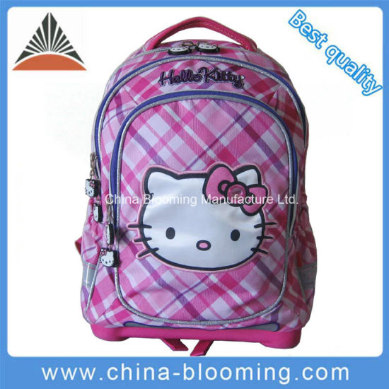 56d3afd37 China Hello Kitty Brand Designer Backpack Back to School Bag - China ...