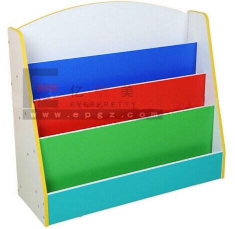 Double Side Kid's Shelf, Modern Kids Bookshelf, Kids Toy/Book Storage Cabinet