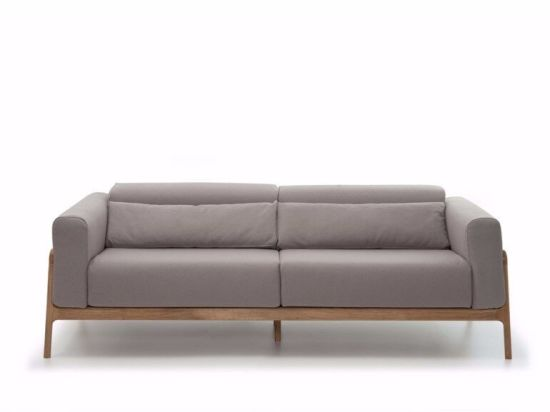 Bon Modern Design Fabric Wooden Leg Living Sofa Home Furniture