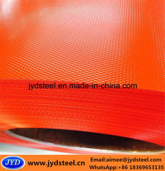 Embossed Surface PPGI Steel Coil pictures & photos