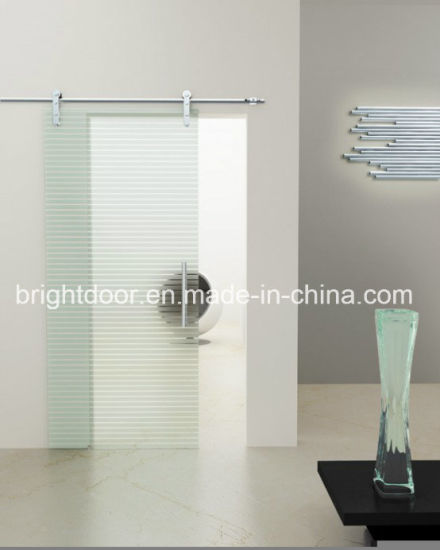 China Frameless Glass Sliding And Folding Doors Frosted Glass Doors