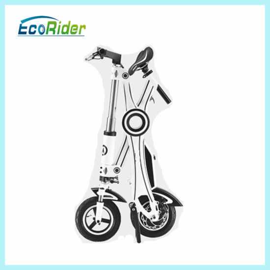 Lithium Battery Two Wheel Chainless Mini Folding Electric Bike pictures & photos